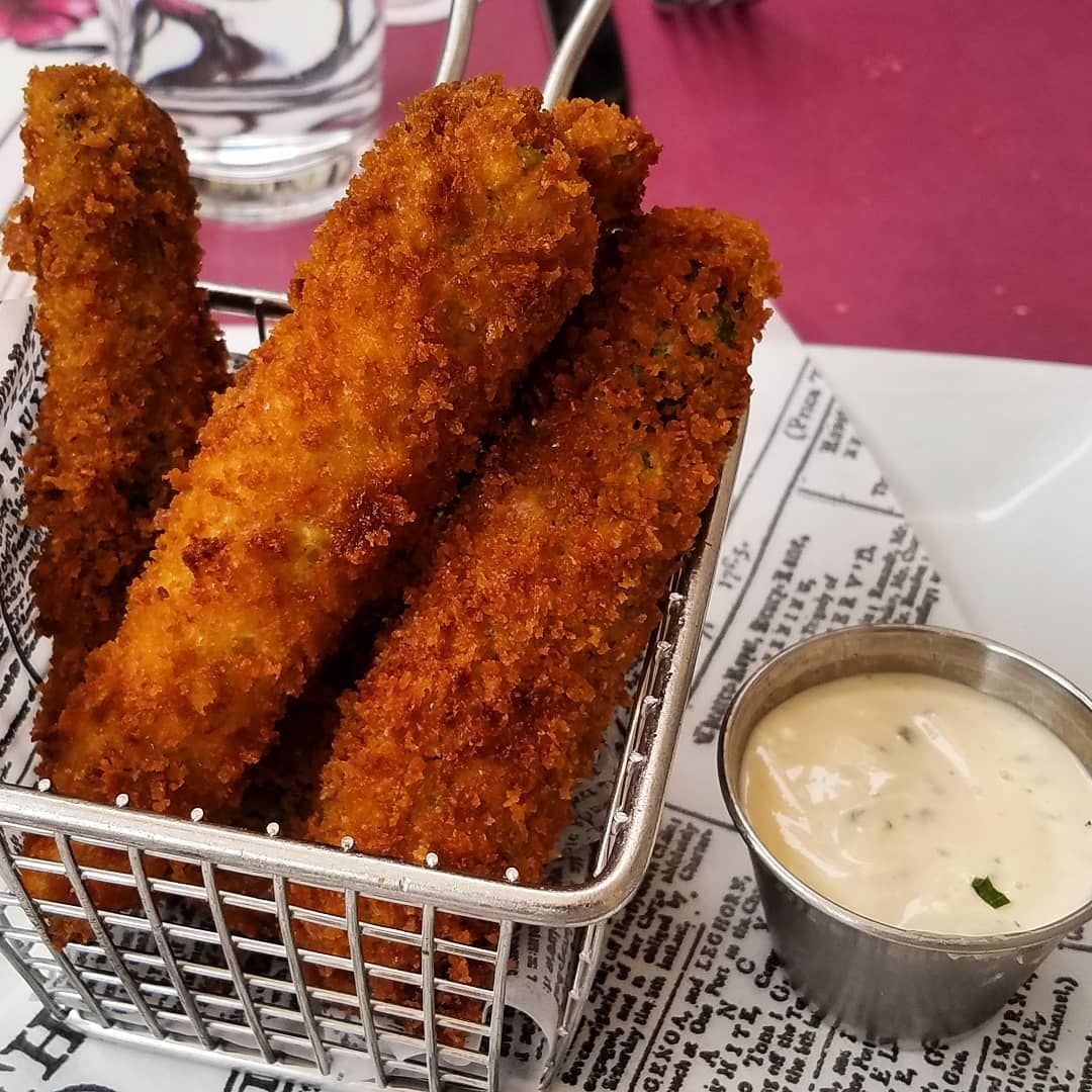 Fried Pickles | Dave Tavres